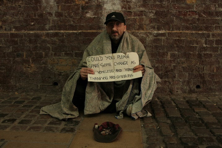 Help homeless peole