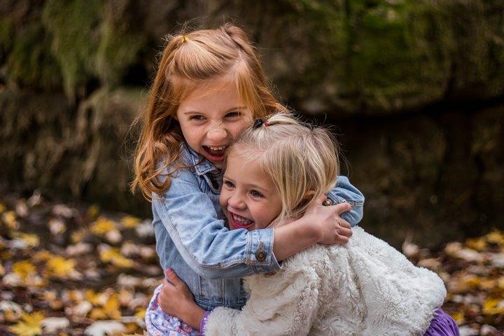a hug is healing